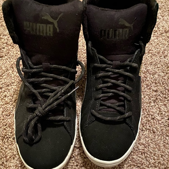 Black Puma High Tops | Poshmark